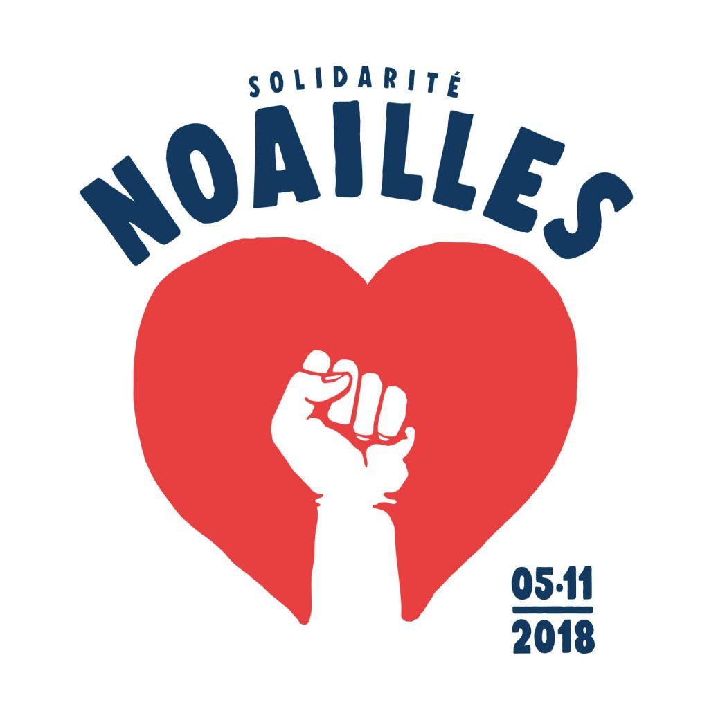 logo solidarité Noailles créé par eljulio
