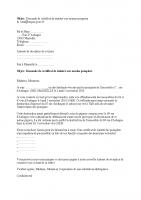 mail pour certificat sinistrés pompiers