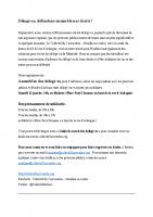 tract des délogés – collectif du 5 novembre