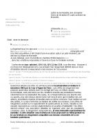 Exemple de courrier AR pour le bailleur – Collectif5novembre